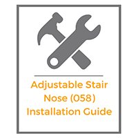 Adjustable Stair Nose Install Guide